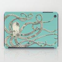 Green Octopus iPad Case