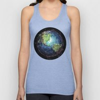 Earth And Space Unisex Tank Top