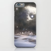 iPhone & iPod Case featuring desert city by ihavenonameandadress