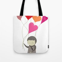 The Love Balloons Tote Bag
