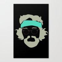 Tommy chong Canvas Print