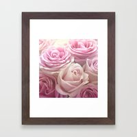You Make Me Blush Framed Art Print