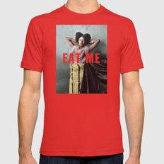 EAT-ME Mens Fitted Tee Red SMALL