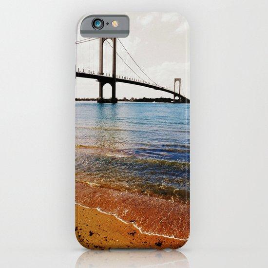 A Sunny Day at the Whitestone Bridge, New York City iPhone & iPod Case