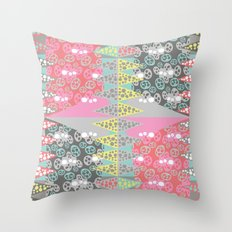 Zinging Throw Pillow