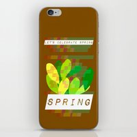 Celebrate Spring iPhone & iPod Skin