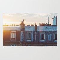 Bonjour Paris! Rug