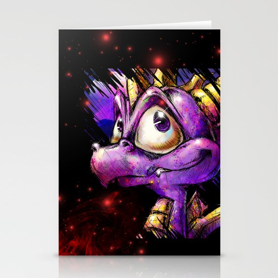 Spyro the Dragon Stationery Card