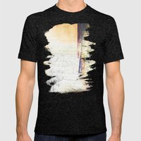 Summer Burns Into Autumn Mens Fitted Tee Tri-Black SMALL