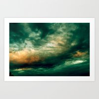 Heavens above Art Print