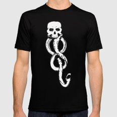 The Dark Mark  Mens Fitted Tee Black SMALL