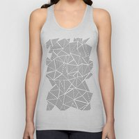 Abstraction Linear Inver… Unisex Tank Top