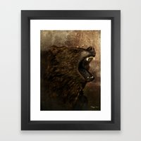 The Grizzly Framed Art Print