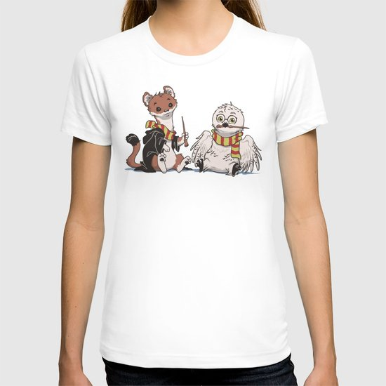 The Owl and The Weasel T-shirt