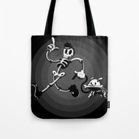 Dead Man Walkies Tote Bag