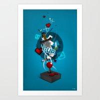 I ❤ GAMING Art Print