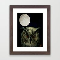 The Night Owl Part 2 Framed Art Print