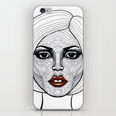Face Analysis iPhone & iPod Skin