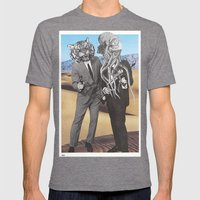 They Made Us Detectives … Mens Fitted Tee Tri-Grey SMALL