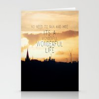 It's A Wonderful Life Stationery Cards