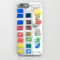 iPhone & iPod Case featuring paint your dreams by Rebecca Mcmillan