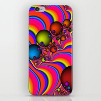 Blinding Color iPhone & iPod Skin
