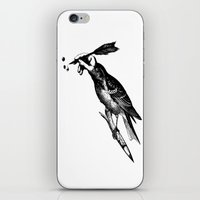 iPhone & iPod Skin featuring The Experimetal Artist by pigboom el crapo