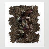 Impressive Brier Pattern… Art Print