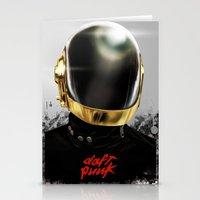 Daft Punk I Stationery Cards