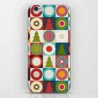 geo christmas iPhone & iPod Skin