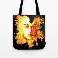 Bride Of Fire Tote Bag