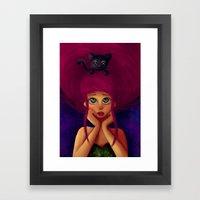 Oh, Hello.  Framed Art Print