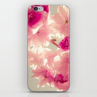 Somewhere behind the pink veil... iPhone & iPod Skin