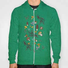 Dark Wild Forest Mushroo… Hoody