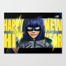 Happy new Hit Year ! :) Canvas Print