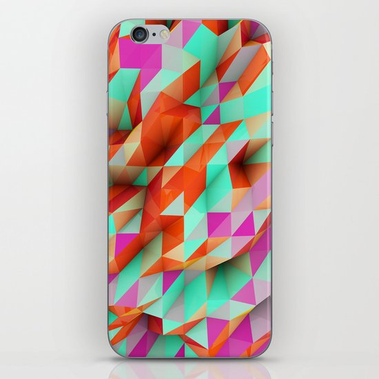 Polygons Sphere Abstract iPhone & iPod Skin