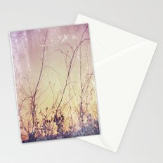 sea plants (purple) Stationery Cards