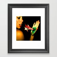 Taste The Rainbow Framed Art Print
