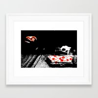 Necessities.  Framed Art Print