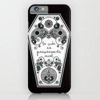iPhone & iPod Case featuring The Life by Daniela Jiménez