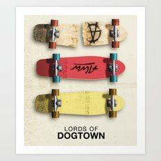 Lords Of Dogtown - Movie Poster Art Print