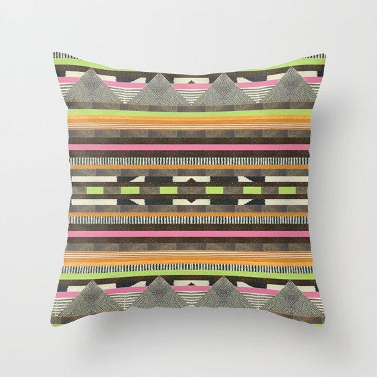 DG Aztec No. 2 Throw Pillow