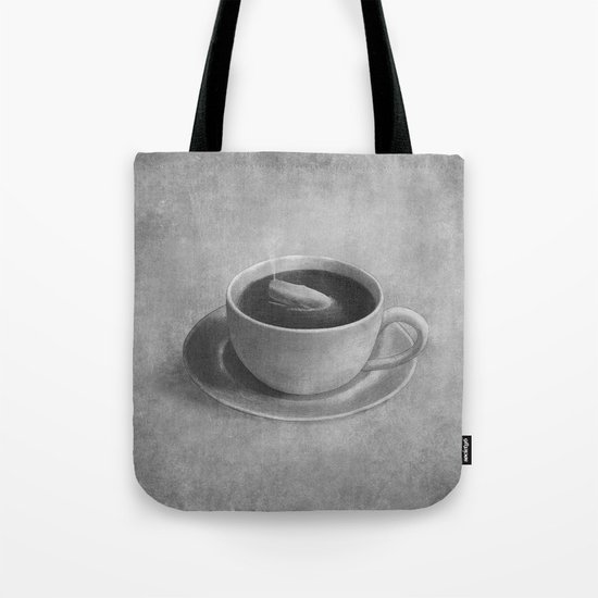 Whale in a tea cup  Tote Bag