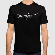 Swordfish SMALL Mens Fitted Tee Black