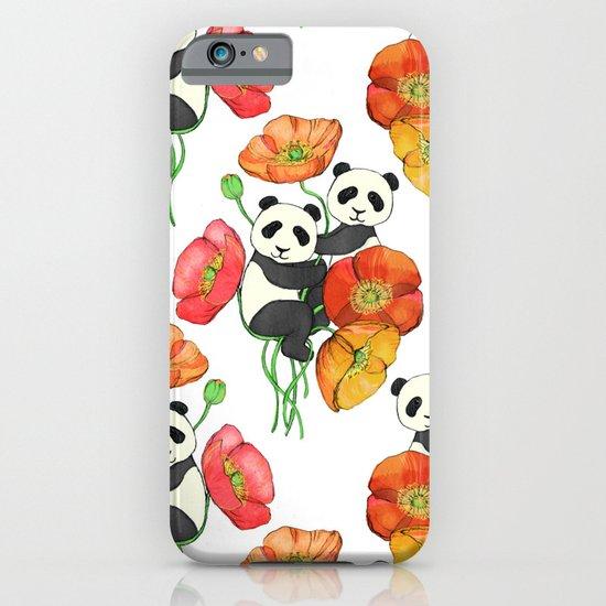 Poppies & Pandas iPhone & iPod Case