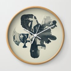 embers of clarity Wall Clock