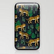Safari Tiger By Andrea L… iPhone & iPod Skin