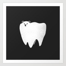 Molar Bear Art Print