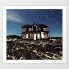 At Home in the Stars Art Print