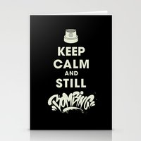 Keep Bombing Stationery Cards